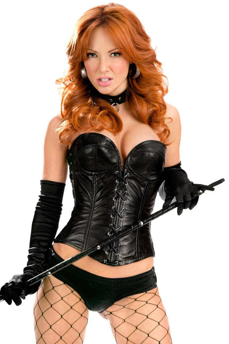 In leather corsets sex
